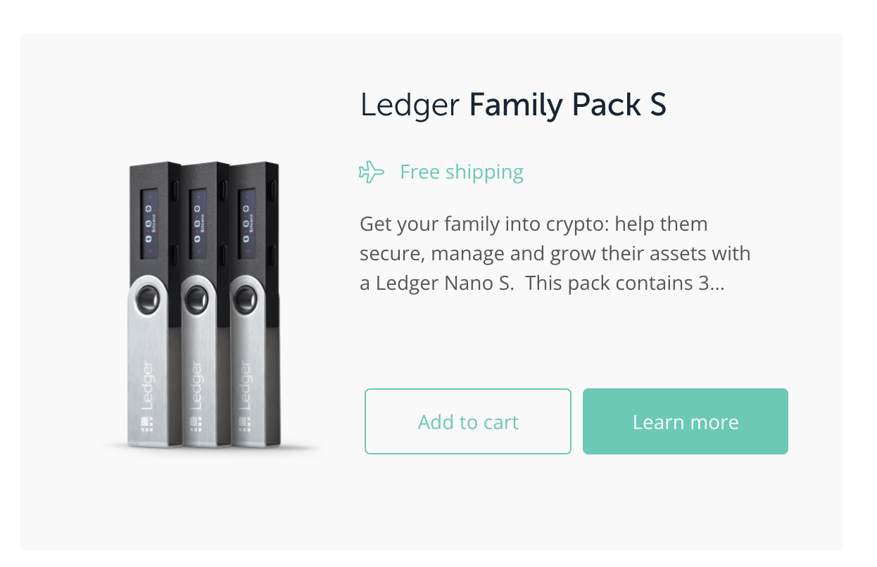 Ledger Wallet Black Friday - Anticipated at least 30% Off