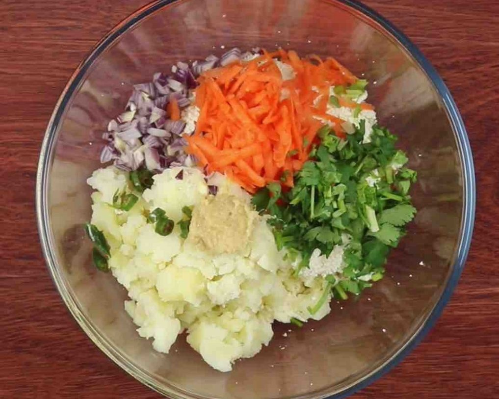 Mix the veggies