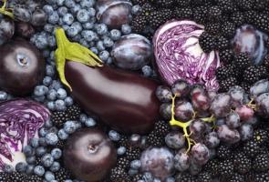 Blue & Purple fruits and veggies