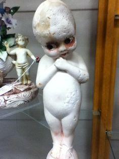 Creepy Staring Statue