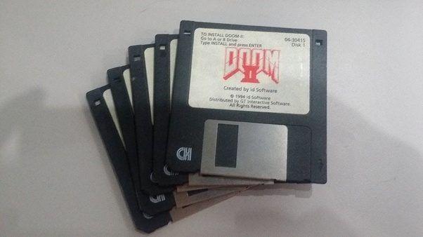 Doom 2 on Floppy Disks