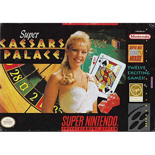 Super Caesar's Palace - SNES