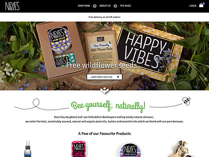 Neve's Bees - natural beeswax cosmetics