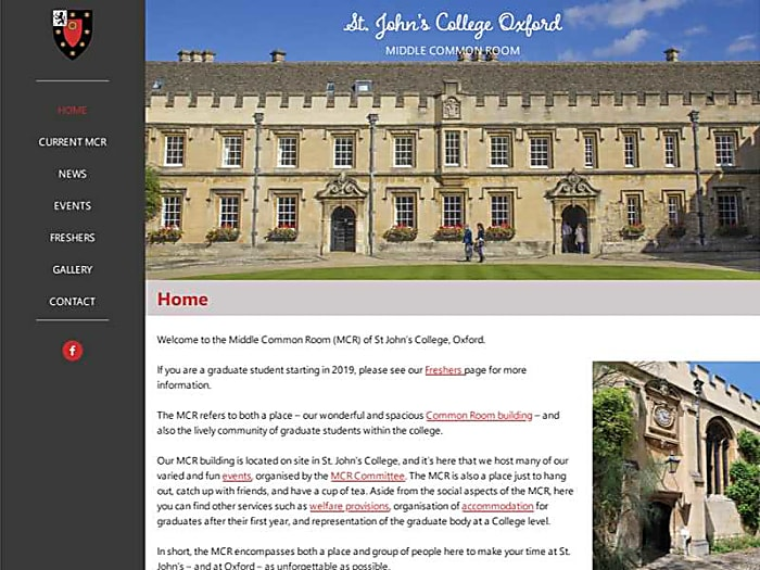 Graduate Community, St John's College, Oxford