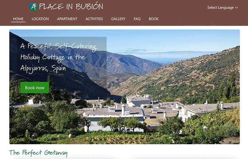 A Place in Bubión, Spain