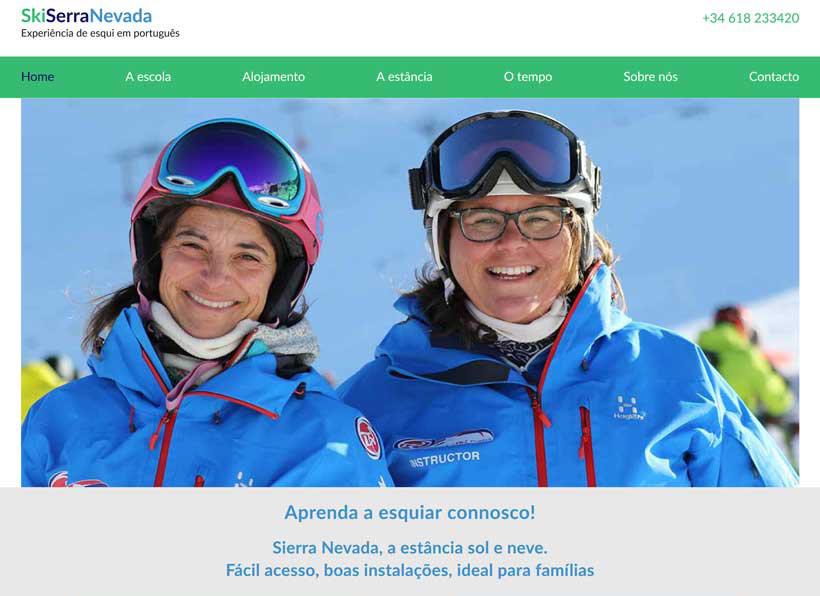 Portuguese Ski School, Sierra Nevada, Spain