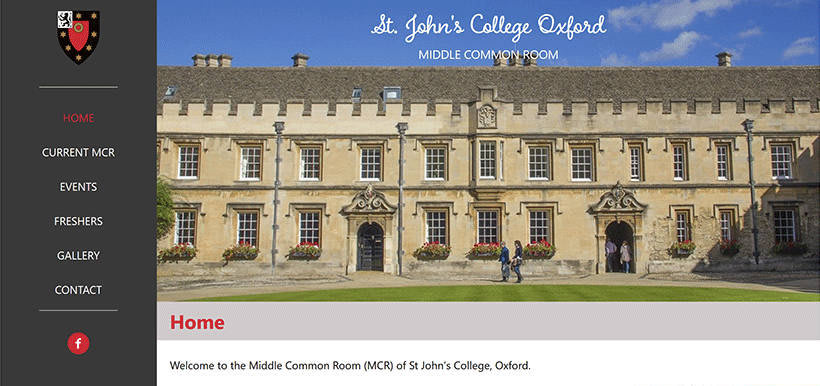 Graduate Community, St John's College, Oxford