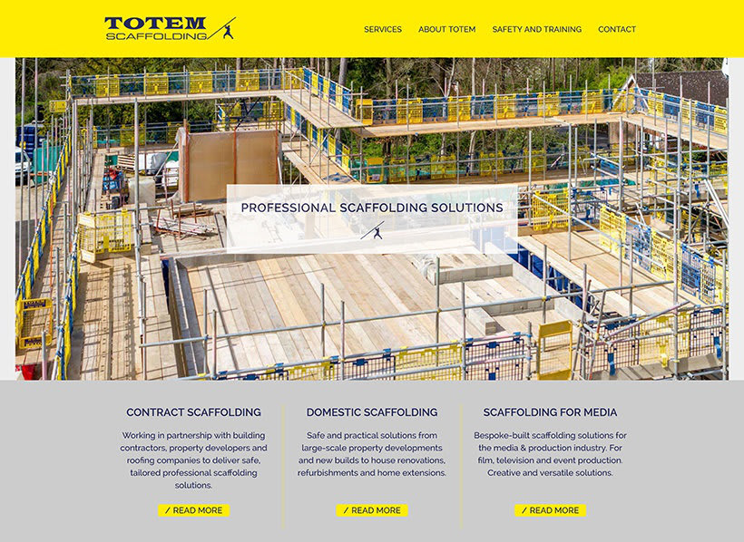 Totem Scaffolding Oxfordshire