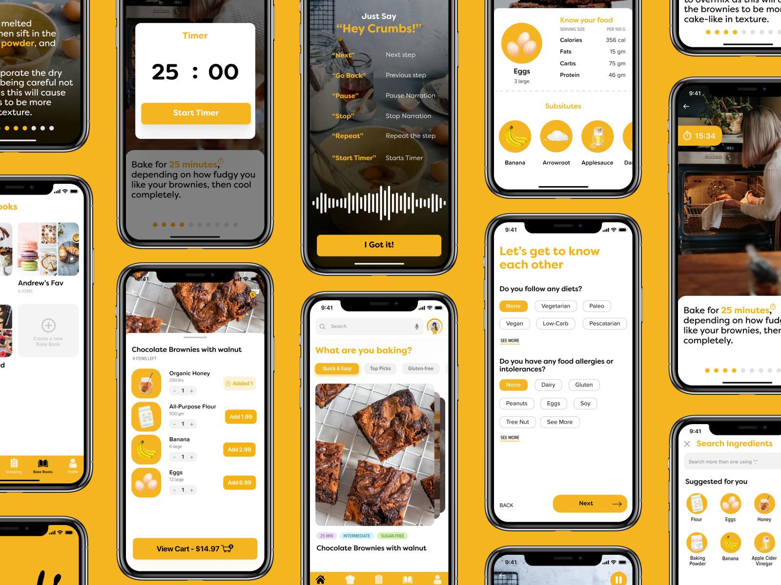 Crumbs App