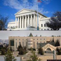 להניף את דגל ישראל בחזית בית המשפט העליון
