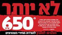 """לא יותר מ- 650 ש""""ח - המאבק להורדת מחירי המועדוניות והצהרונים של בית עמנואל"""