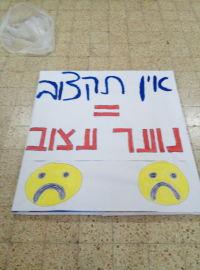 המאבק למען נוער קרית משה גבעת שאול