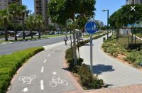 בניית שבילי אופניים למניעת סכנות