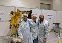 שלושת מייסדי SpaceIL להדלקת משואה