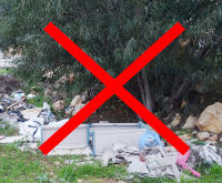 We call for a government-funded campaign against litter in Israel