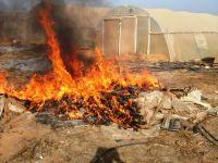די לשריפות פסולת חקלאית