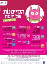מורידים את מחירי הקייטנות בחיפה