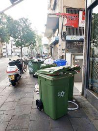 נוהלי פינוי אשפה של עיריית תל אביב