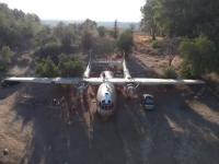 עוצרים את פירוק המטוס ביער המגינים!
