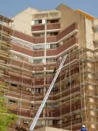 שיקום חזיתות של בניינים