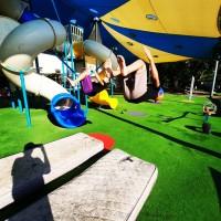 מתחם ספורט אקרובטי לילדים ולנוער