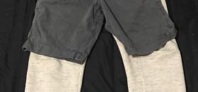 הורדת מכנס ארוך שיש מתחת מכנס קצר זה כמו להוריד סוודר באמצע שיעור