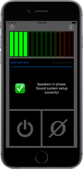 PhaseChecker app iPhone screenshot