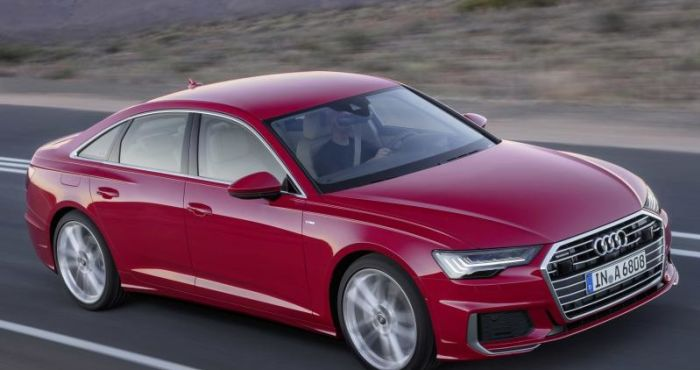 New A6 unveiled