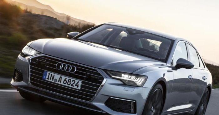 Audi A6 international launch