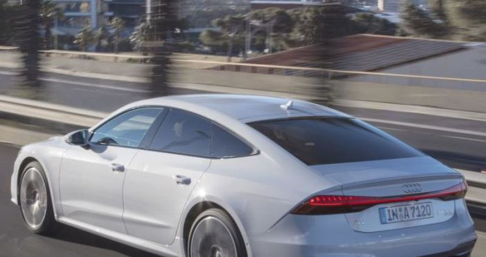 Driving the new Audi A7 Sportback