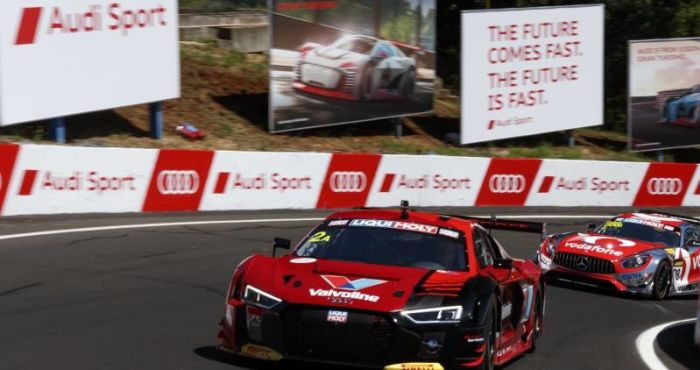 Audi sets the pace