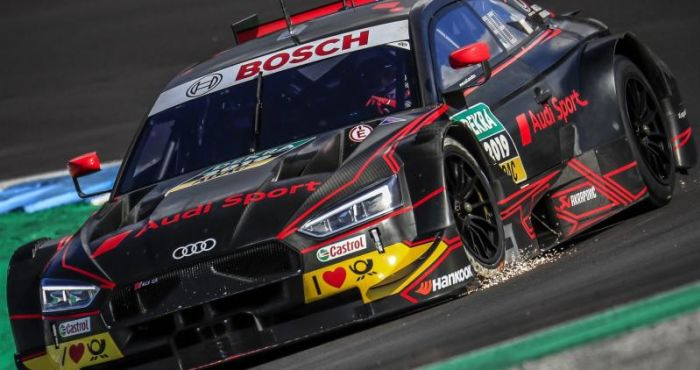 Audi test new DTM car