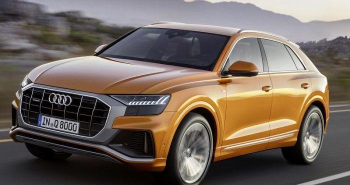 Audi Q8 unveiled