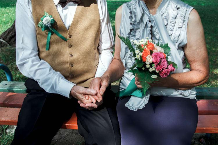 Band für silberne Hochzeit