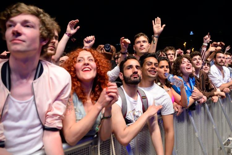 Das Publikum ist bei jedem öffentlichen Auftritt der Star