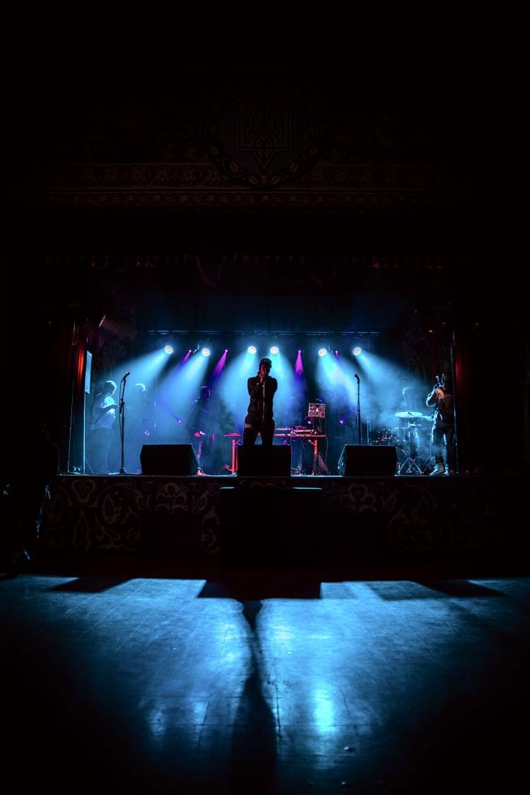 Leere Konzertsäle aufgrund der Corona-Krise
