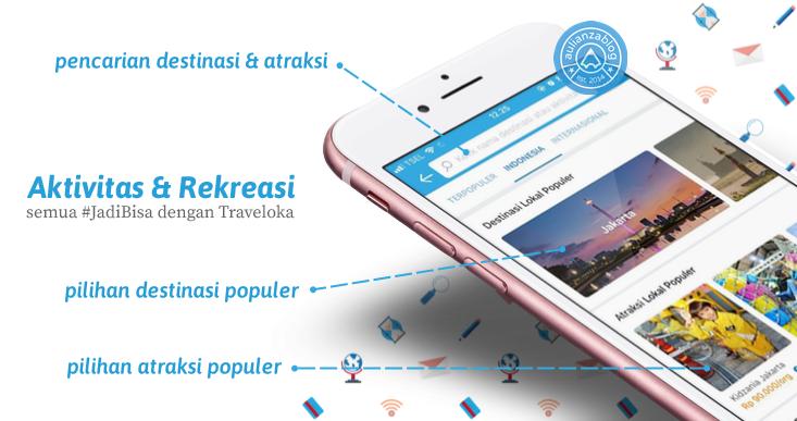 Screenshot 1 mapdou - Cari Tiket Rekreasi dan Aktivitas dengan Cepat? Semua #JadiBisa di Traveloka!