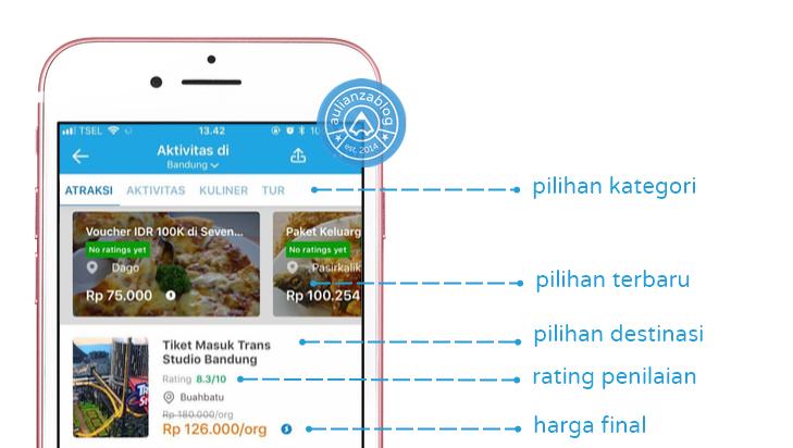 Screenshot 5 kly75e - Cari Tiket Rekreasi dan Aktivitas dengan Cepat? Semua #JadiBisa di Traveloka!