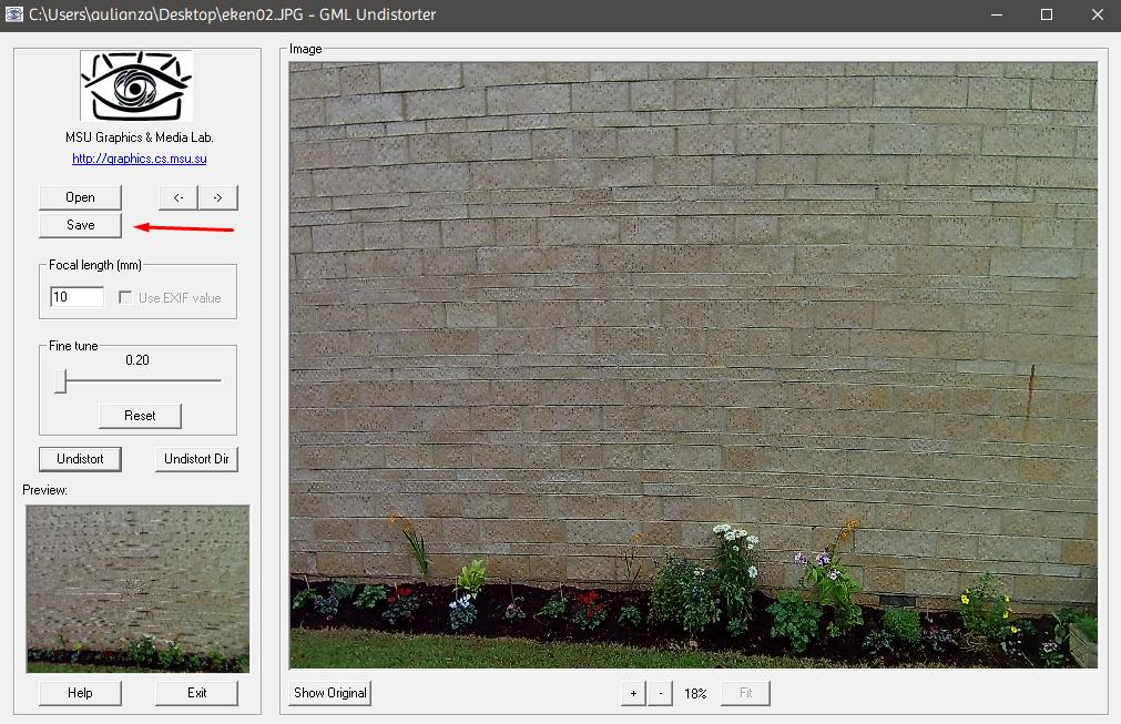 sc3 ulcccr - Cara Menghilangkan Efek Lengkung Pada Hasil Foto Kamera Action Cam