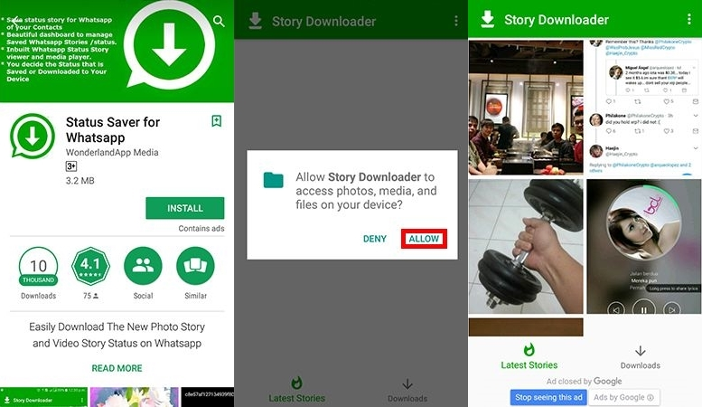 scwast m1uezu - Cara Menyimpan Status WhatsApp Teman Tanpa Screenshot dengan Mudah