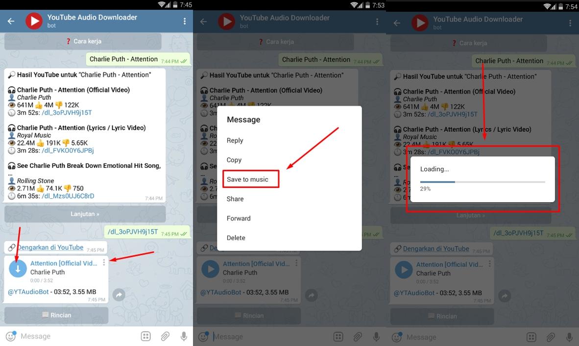 678 oipjvv - Cara Mudah Download Lagu di YouTube Dengan Menggunakan Bot Telegram