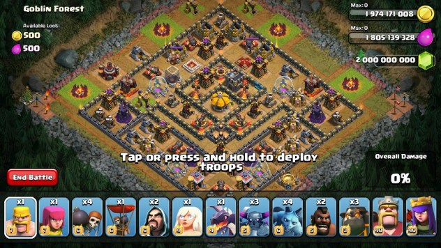 1 mvegxk - Clash of Clans Premium Mod Unlimited Versi 9.256 Private Server No Ban!