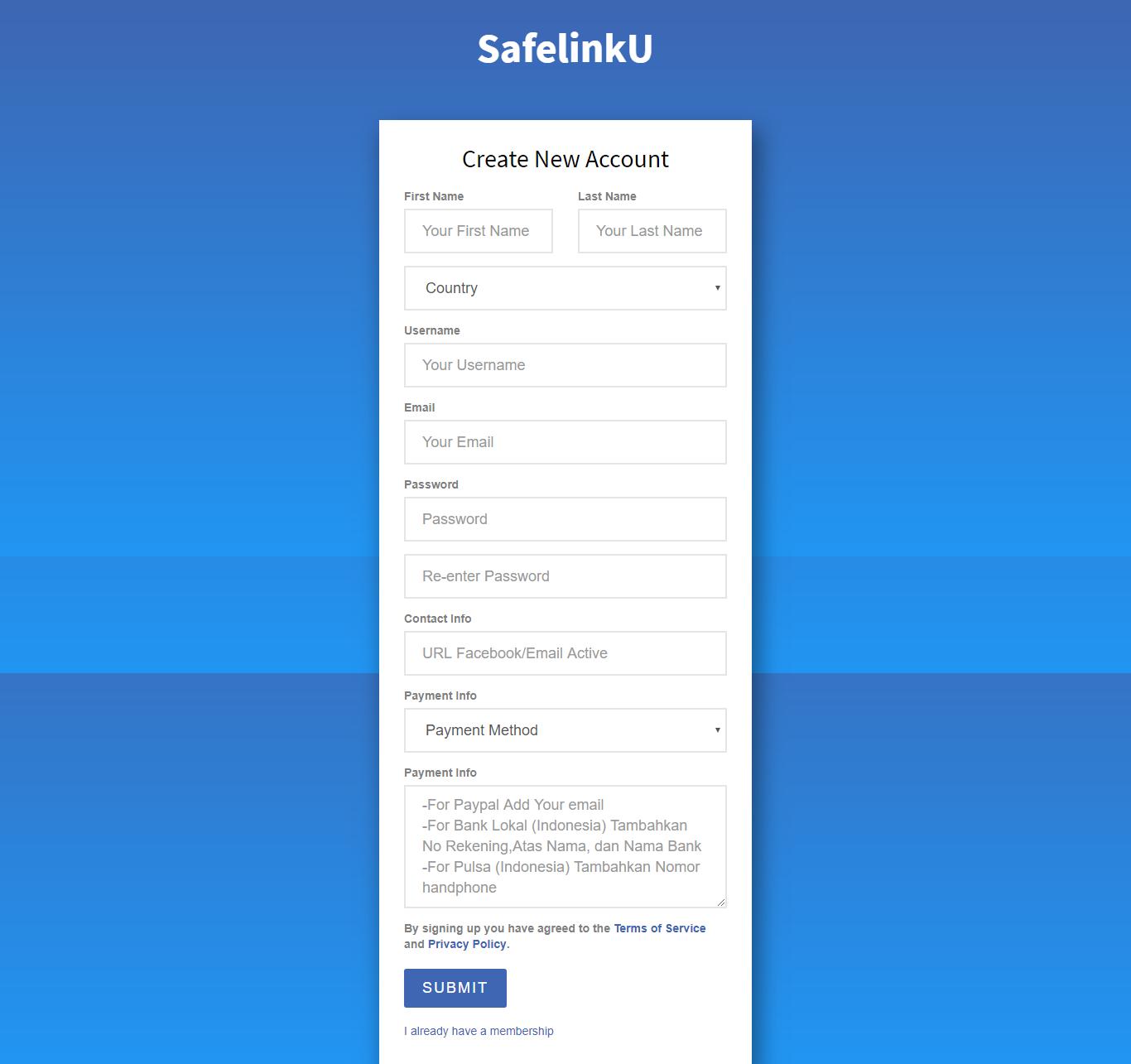 2 pcgwdn - SafelinkU - Short URL Lokal Terbaik dengan Bayaran Tinggi Hingga $130/10K View