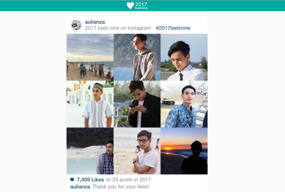sc2 olzqyi - Cara Mudah Membuat Foto Instagram BestNine 2017 Tanpa Harus Download Aplikasi