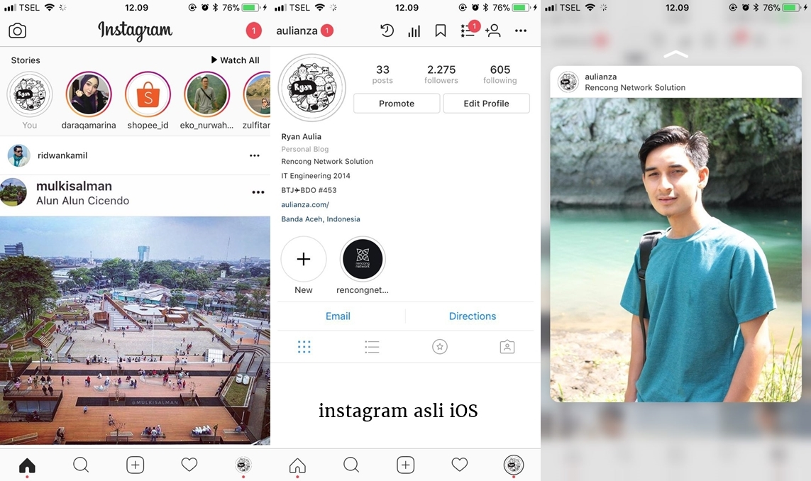 ssigios yxvesf - Download Instagram Android dengan Tampilan Seperti Instagram iPhone