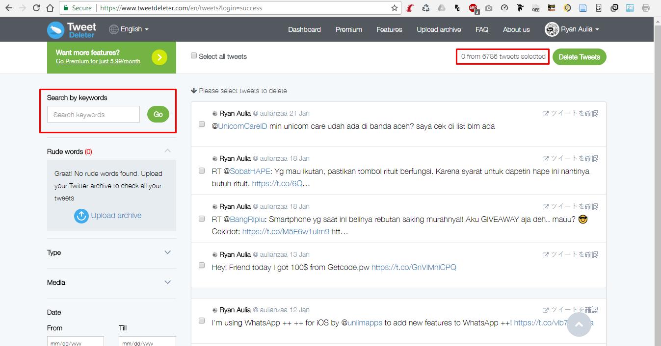 3 e60ff2 - Cara Mudah Hapus Tweet Jadul di Twitter Hanya dengan Sekali Klik