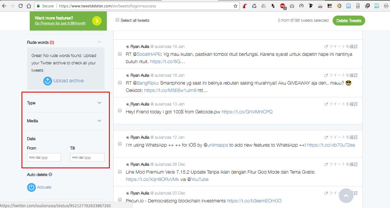 4 ivuukq - Cara Mudah Hapus Tweet Jadul di Twitter Hanya dengan Sekali Klik