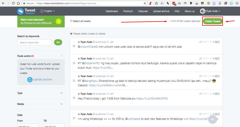 5 gbyohd - Cara Mudah Hapus Tweet Jadul di Twitter Hanya dengan Sekali Klik