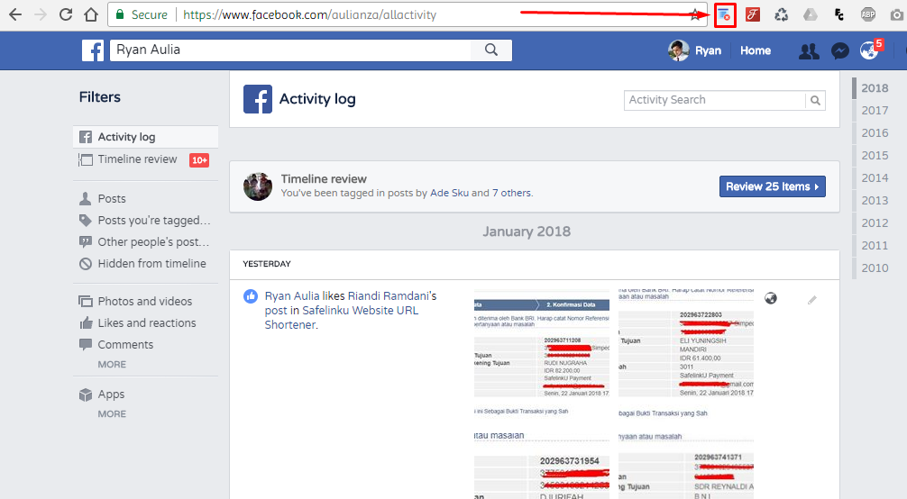 3 myrbft - Malu Sama Status Alay Kamu di Facebook? Ini Dia Cara Mudah Menghapusnya