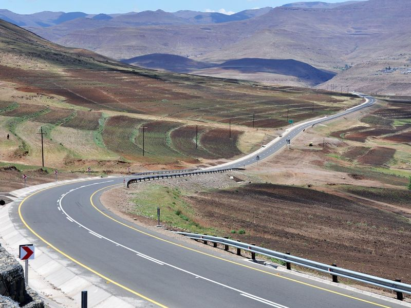 Mokhotlong to Sani Pass Road project